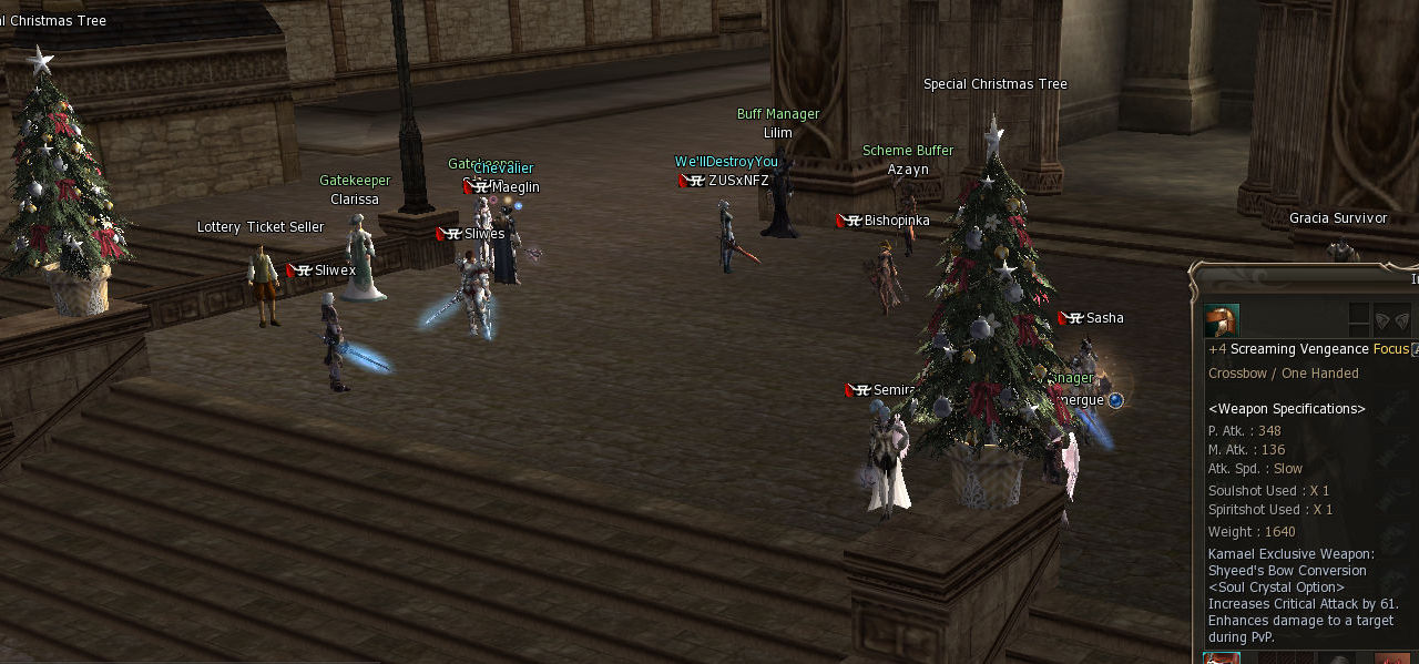 Winter on Lineage 2 Gracia Final