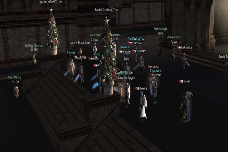 Sunday in Giran Town Lineage 2 Gracia Final by Semira