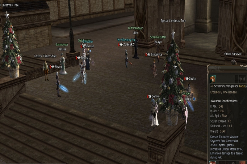 Winter on Lineage 2 Gracia Final by Semira