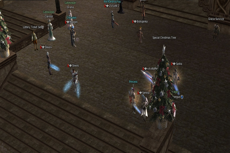 Usual Day on Legendary Gracia Final server by Semira